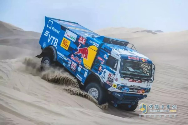 ISZ动力在达喀尔汽车拉力赛