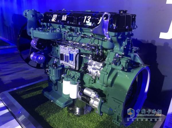 奥威6DM3 13升的国六发动机