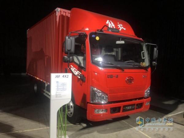 解放动力劲威CA4DB1发动机的解放J6F国六载货车