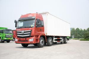 福田戴姆勒 欧曼 新ETX 280QQ自动抢红包 8×2F 厢式载货车