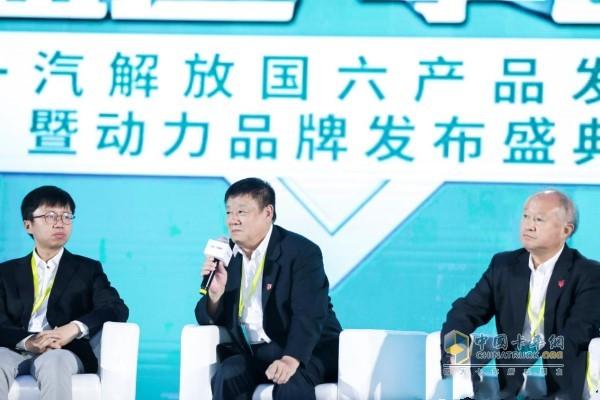 中国内燃机工业协会常务副会长兼秘书长邢敏