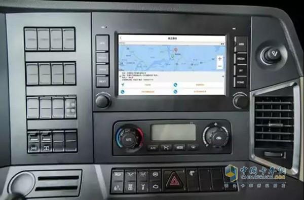 联合卡车搭载G7智能车管理系统
