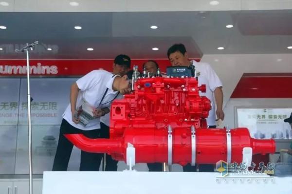 国六D4.5发动机