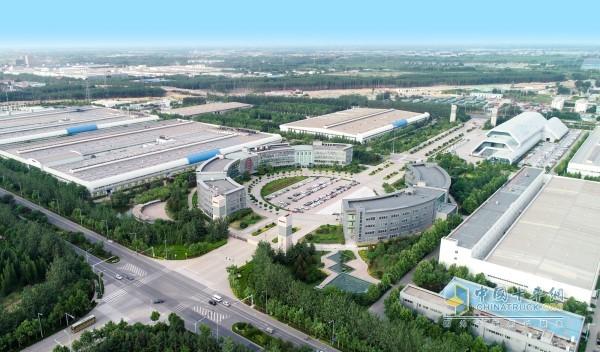 潍柴工业园俯瞰图
