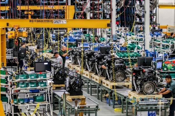 发动机生产车间
