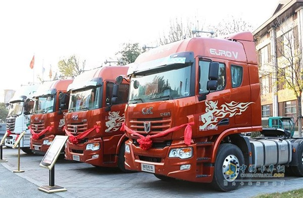 九年前王锡忠成为了中集联合卡车代理