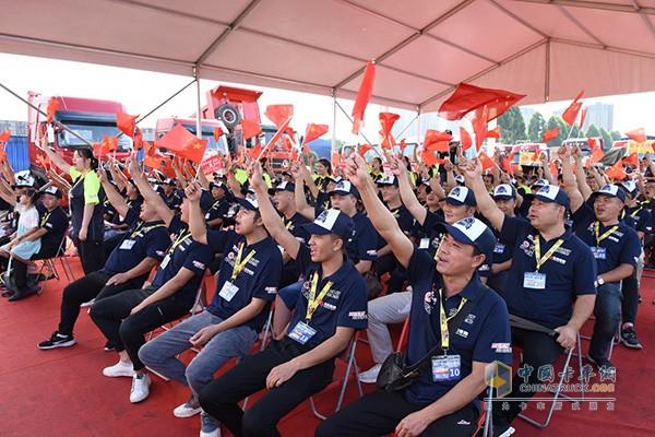 第五季东风天龙中国卡车驾驶员大赛半决赛现场