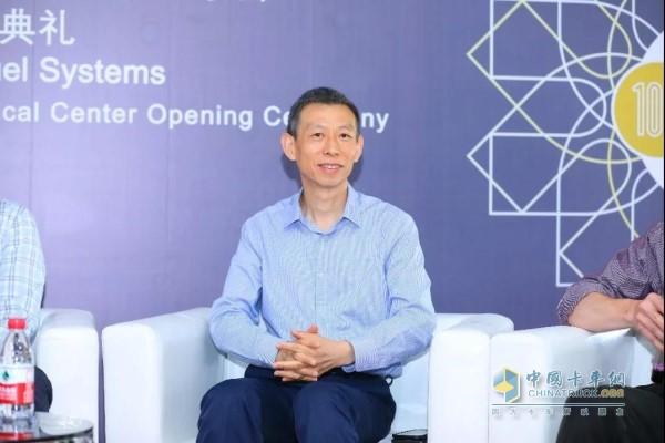 康明斯副总裁兼中国区零部件事业部总经理王宁