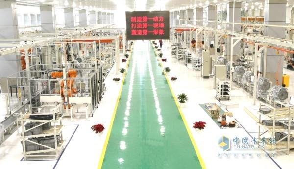 解放动力发动机工厂