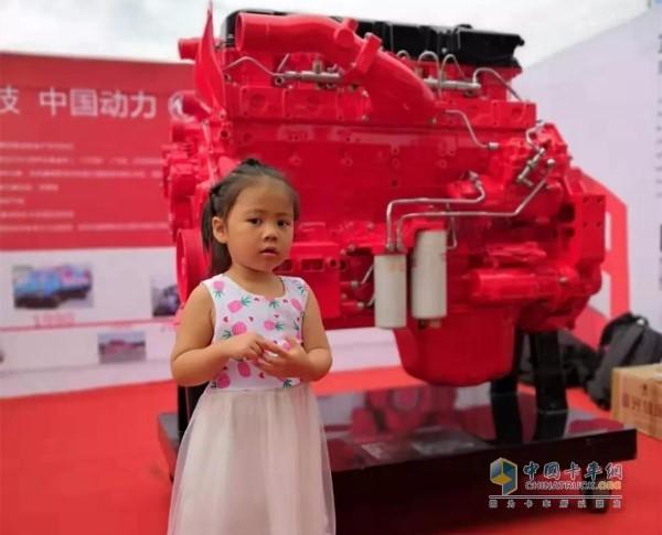 小观众与东风康明斯ISZ13发动机
