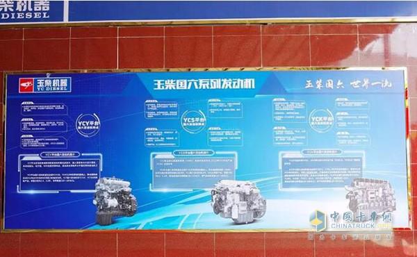 玉柴国六系列发动机