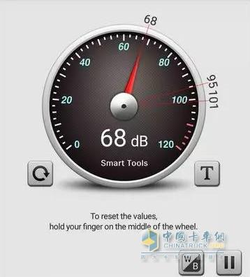 室内噪音可控制在70db以内
