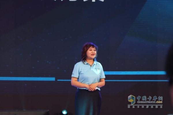 陕重汽销售公司副总经理刘鑫女士