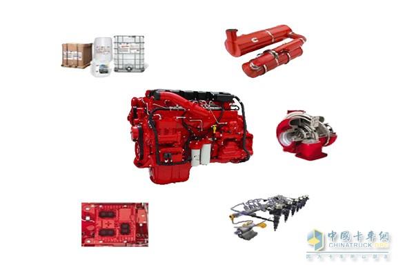 东风天龙KL可以搭载康明斯ISZ发动机
