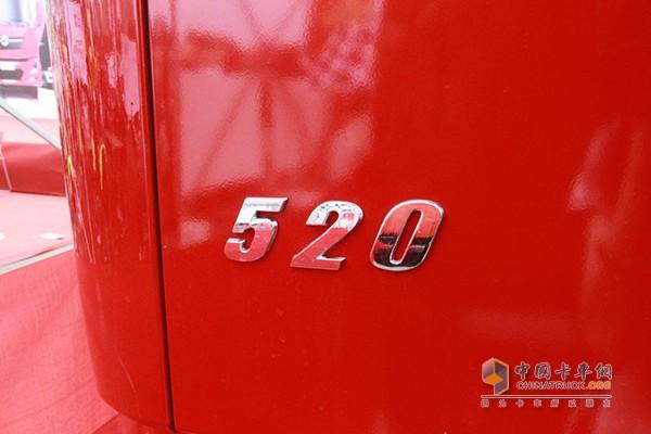 520马力的东风天龙KL