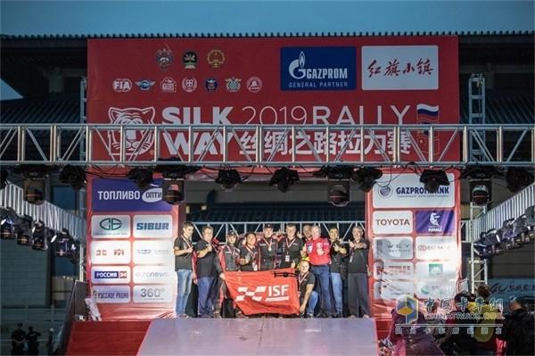 福田康明斯车队夺得2019丝绸之路拉力赛T2组亚军