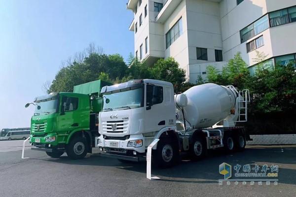 中集联合卡车轻量化展车