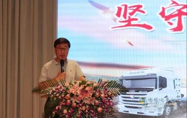 中集集团副总裁、中集联合卡车董事长兼总经理李胤辉博士