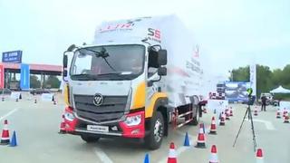 2017中国高效物流卡车公开赛郑州站场地操控赛