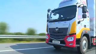 2017中国高效物流卡车公开赛郑州站道路实况赛