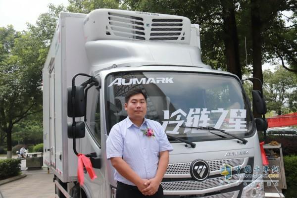 英格索兰公司卡车及挂车冷藏机组销售总监王世勇