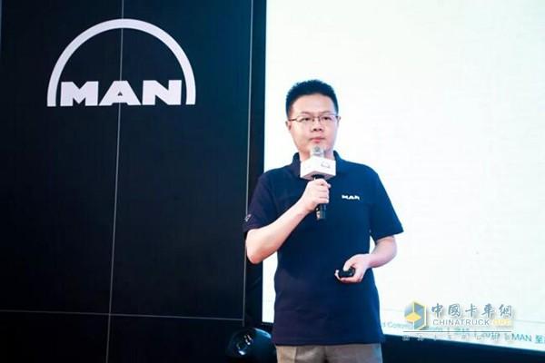 曼恩商用车亚太区市场和传播负责人余桢先生阐释品牌文化