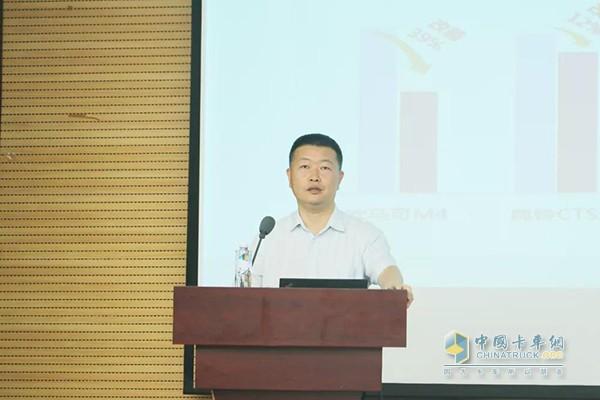 福田汽车集团副总裁、欧马可事业部总裁顾德华