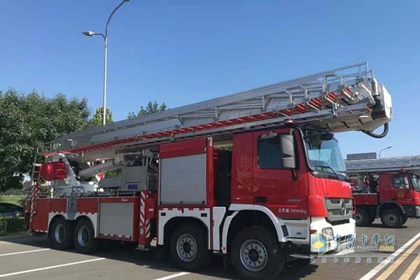 齐格勒受邀参加北京消防车辆与装备展