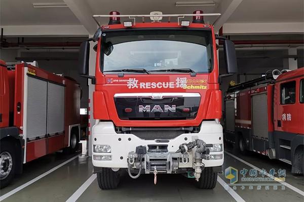曼恩消防车