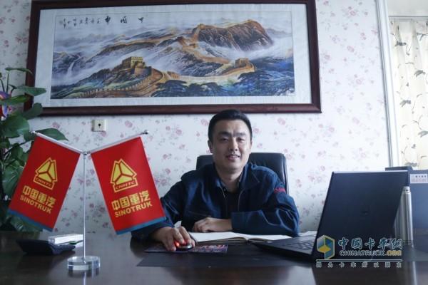 中国重汽集团销售部西安销售分公司总经理李波
