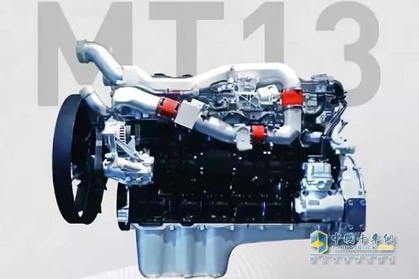 中国重汽MT13燃气发动机
