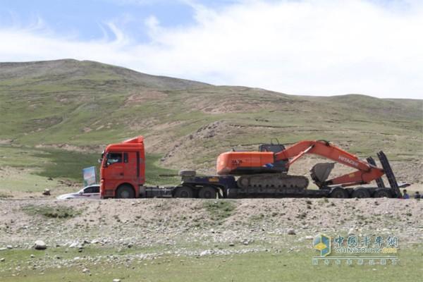 许多内地汕德卡参与到西藏建设中