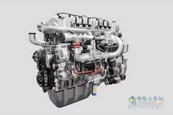 乘龙H7 LNG牵引车天然气发动机