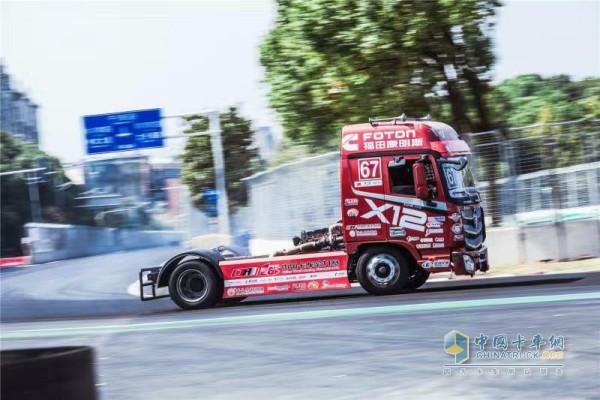 中国卡车公开赛福田赛车