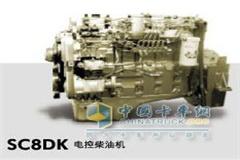 上柴SC8DK电控柴油机