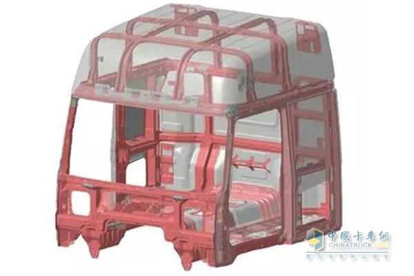四川现代创虎驾驶室结构件