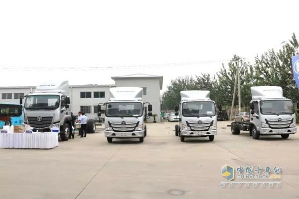 欧马可超级卡车系列产品