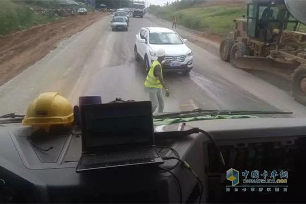 公路跟车检查