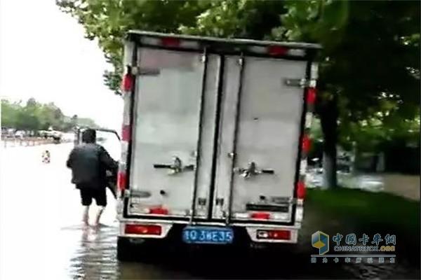 街道严重积水