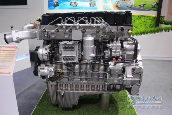 玉柴YCK11系列柴油发动机展品