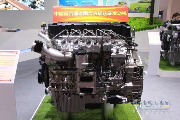 玉柴YCK08系列柴油发动机展品