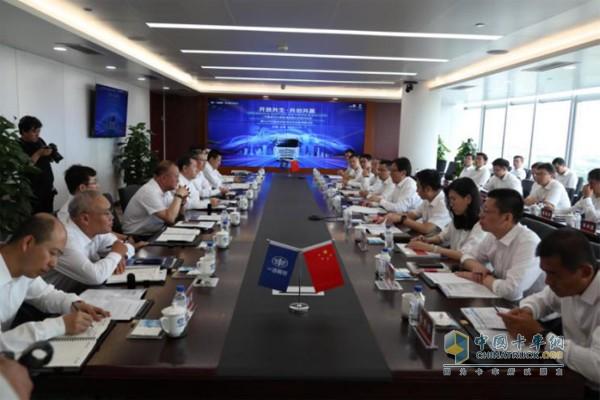 一汽解放与中国联通在长春签署战略合作协议