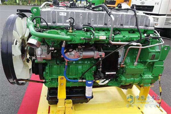 华菱430马力天然气国六发动机