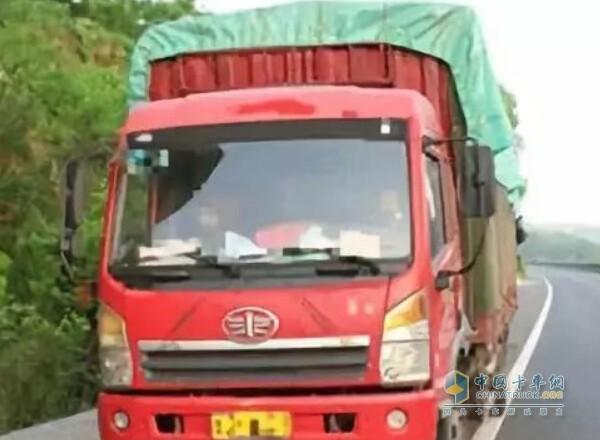 重型货车司机因故意关闭车辆北斗终端被罚