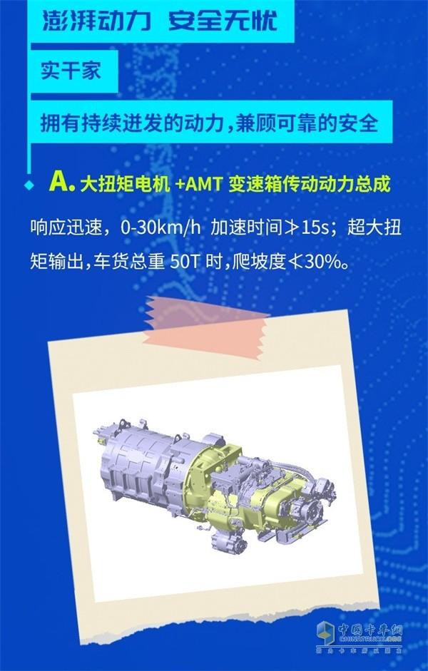 陕汽重卡新M3000纯电动自卸车