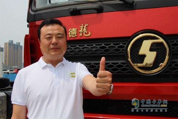 西安康明斯X联盟大客户代表王海涛