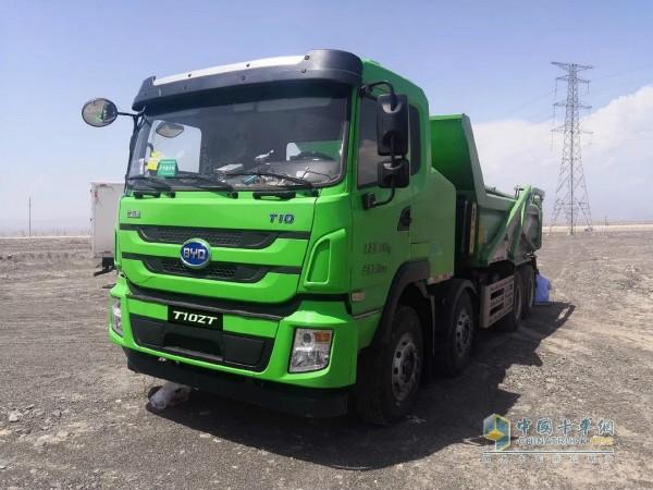 纯电动自卸车 T10ZT