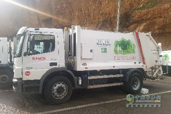 配备艾里逊变速箱的奔驰Atego卡车帮助黎巴嫩度过垃圾危机