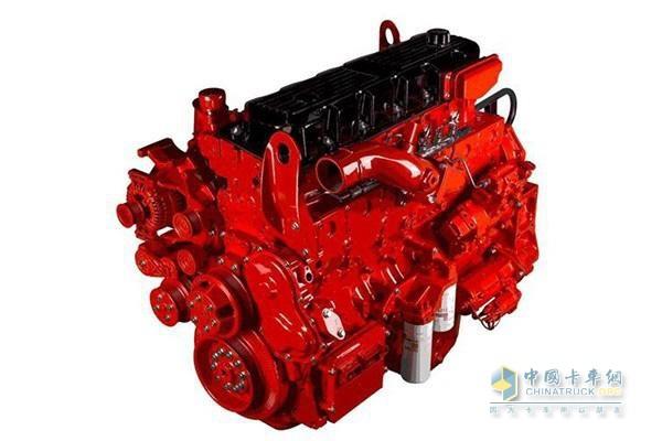 东风天龙KX牵引车搭载的东风康明斯ISZ发动机