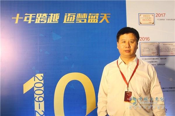 可兰素汽车环保科技有限公司总经理秦建
